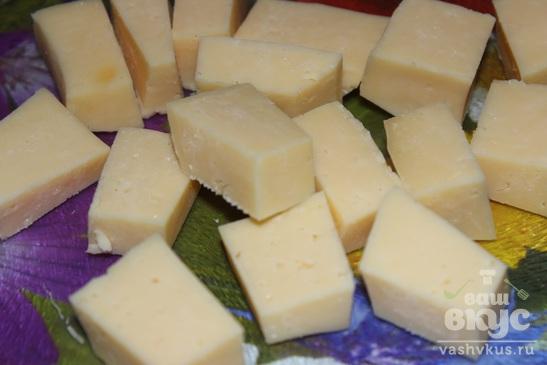 Драники с сырной начинкой