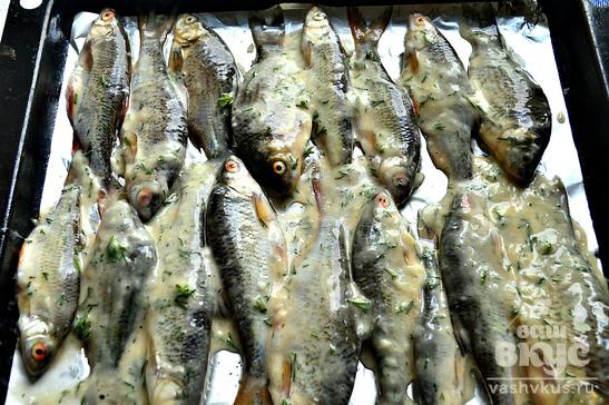Как приготовить речную рыбу в духовке с