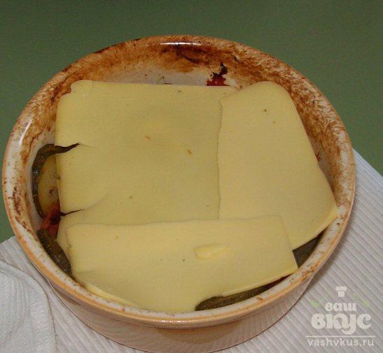 Овощная запеканка с макаронами и сыром