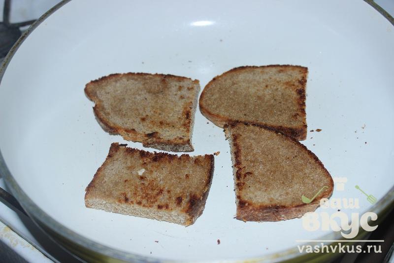 Бутерброды с колбасой на сковороде - пошаговый рецепт с фото на Повар.ру