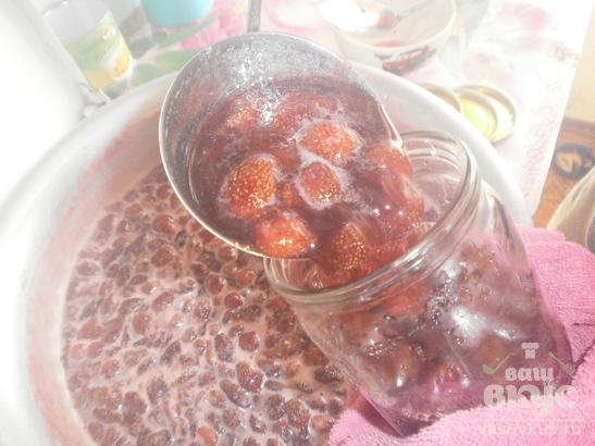 Варенье, сваренное из клубники