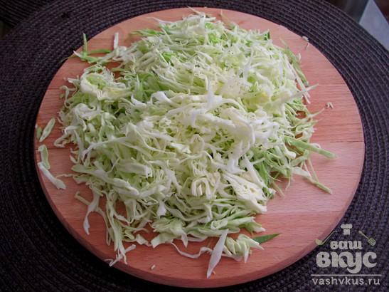 """Овощной салат """"Зеленый"""""""