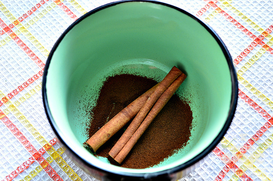 Кофе с имбирем и корицей