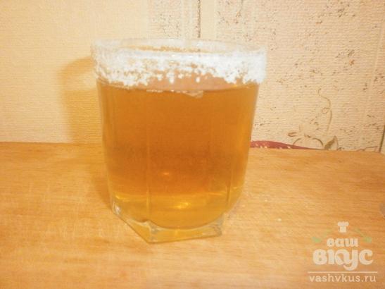 Пиво по-мексикански с лимоном