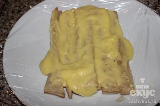 Торт а-ля Наполеон с заварным кремом