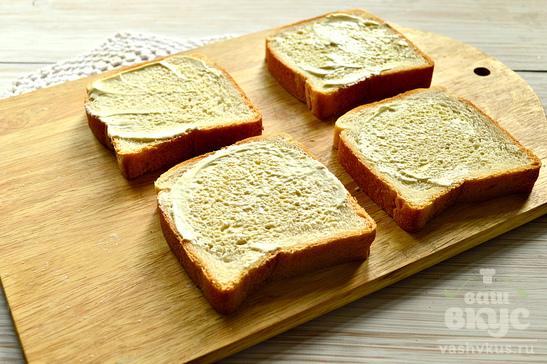 Бутерброды с копченой грудкой