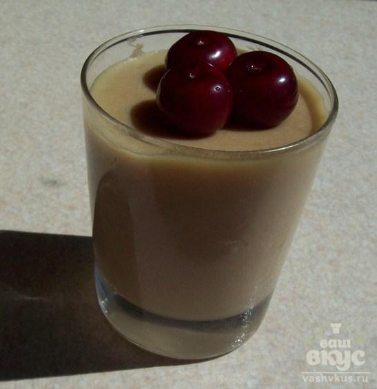 Вишневый заварной крем на молоке