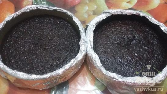 Кофейно - шоколадные коржи для торта