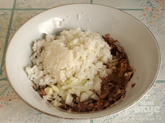 Салат из сайры с огурцом