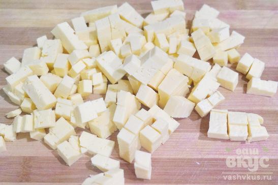 Кексы с сыром, ветчиной и зеленью
