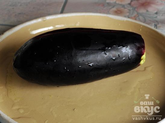 Цветная капуста с баклажаном фри