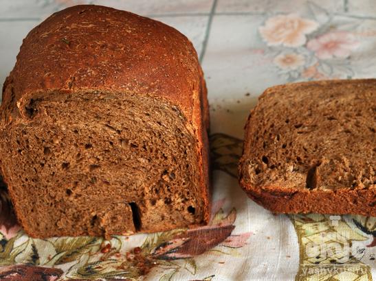 Солодовый хлеб с семечками