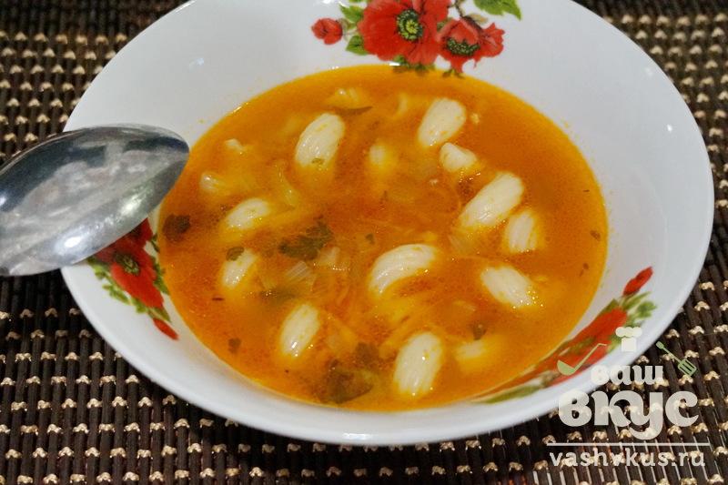 суп с макаронами рецепт пошагово с фото