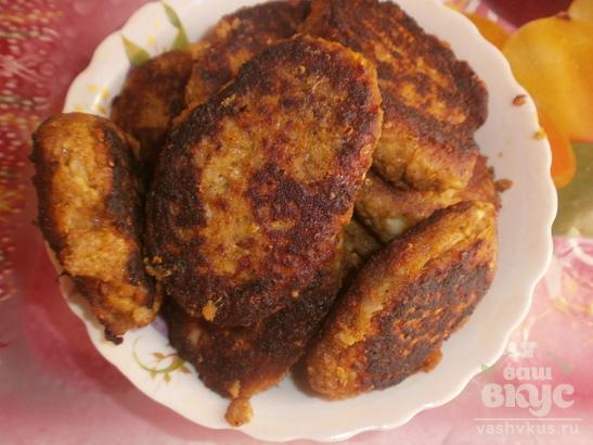 Котлеты из баклажанов с сыром