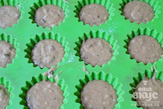 Шоколадные кексы с шоколадом