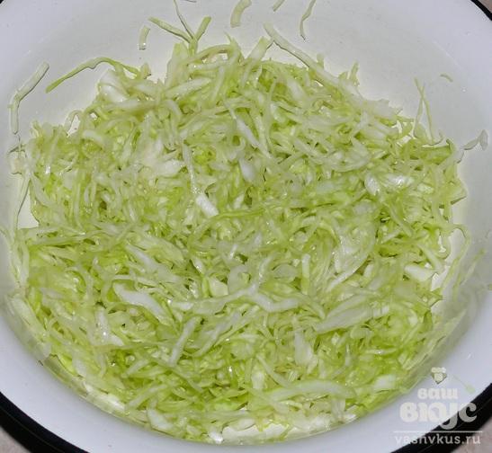 Блины с овощной начинкой