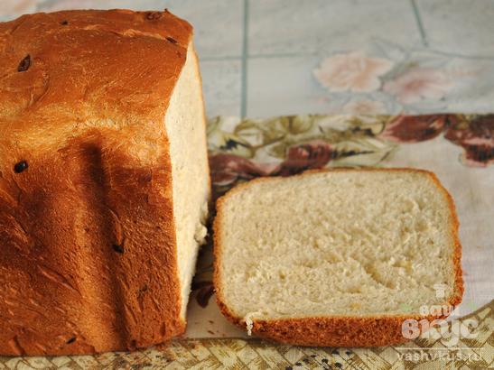 Хлеб с луком и овощной приправой