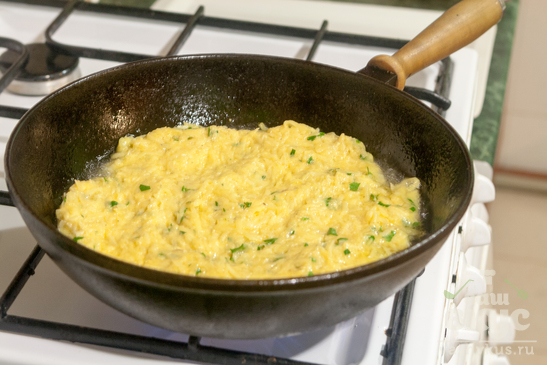 Хашбраун картофельный с петрушкой