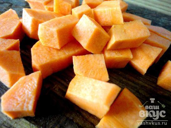 Овощной суп с томатным соком