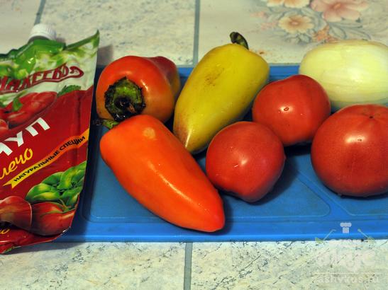 Курица по-мексикански с овощами