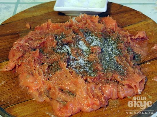 Запеканка из горбуши с картофелем