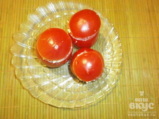 Холодная закуска из помидоров