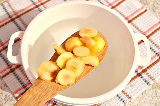 Яблочный компот для детей