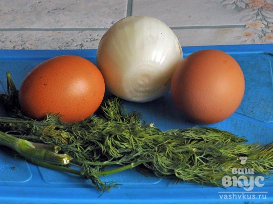 Цветная капуста со сливками и яйцом