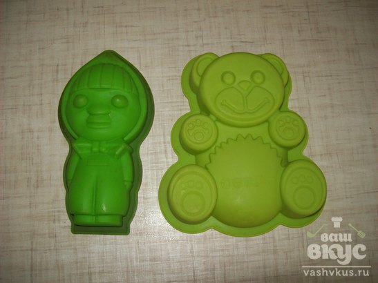 """Детские кексы """"Сладкая парочка"""""""