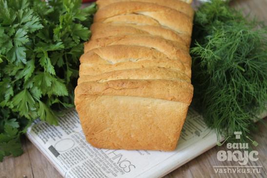 Пышный хлеб со сливочным маслом