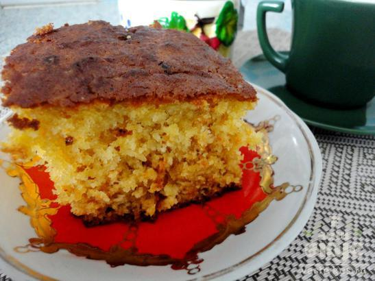 Пирог с морковью и медом