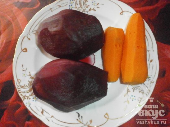 Салат со свеклой и изюмом «Любовник»
