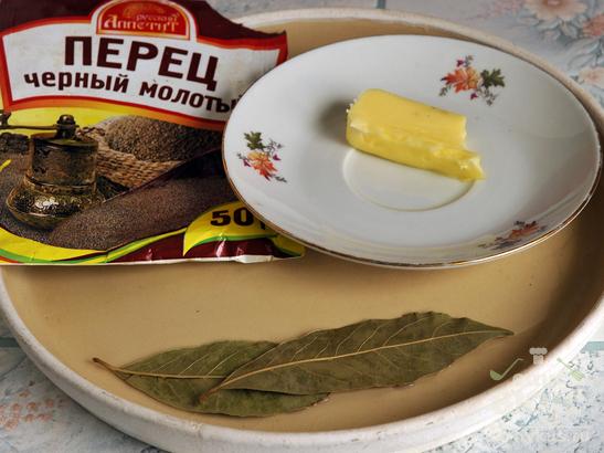 Уха из субпродуктов горбуши