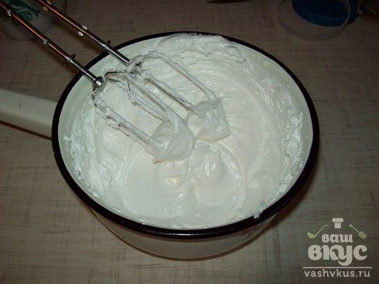Безе из заварного белкового крема