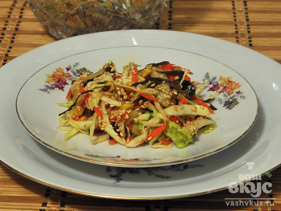 Салат «Три капусты»