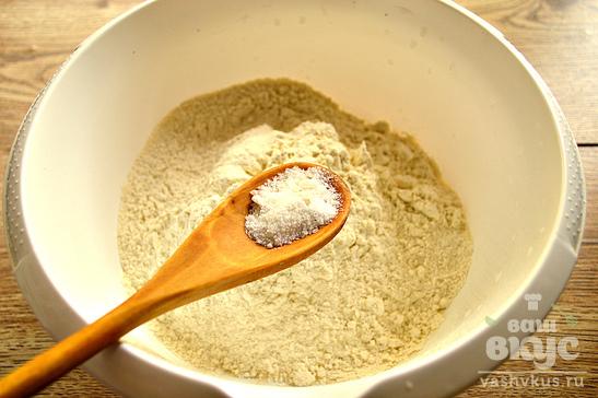 Дрожжевое тесто на молоке и растительном масле
