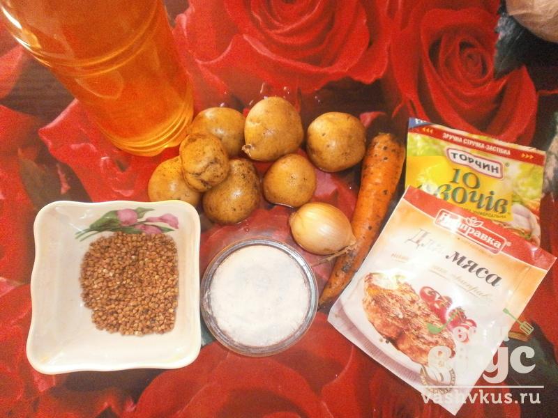 гречневый суп с томатной пастой рецепт