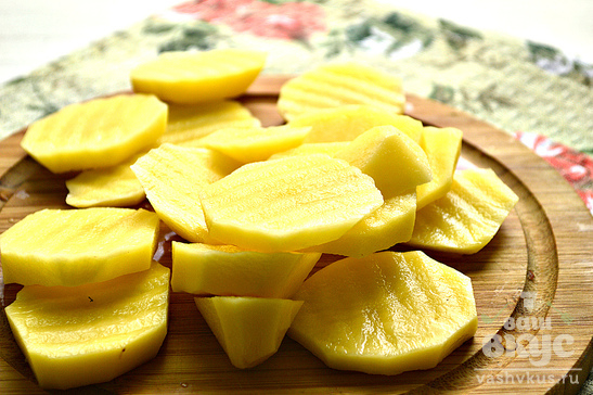 Острый запеченный картофель