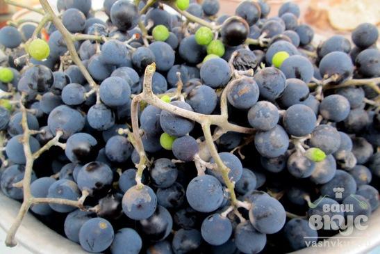 Виноград в банках на зиму