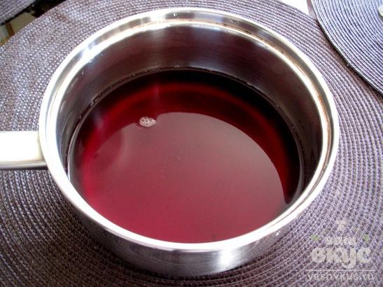 Кисель из вишневого сока