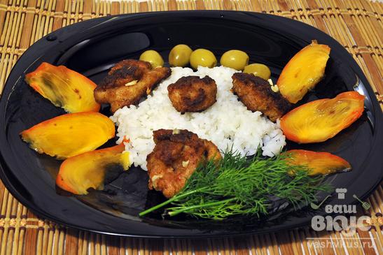 Курица в горчице с панировкой болонез