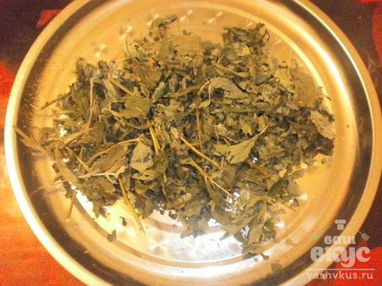 Чай из трав с медом