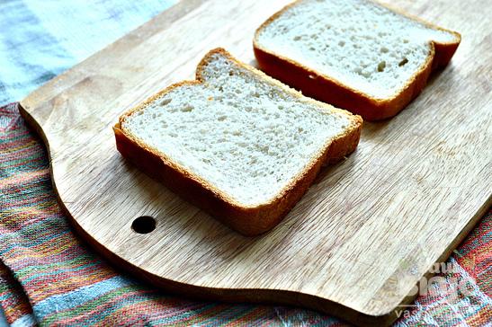 Бутерброды со свеклой и сельдью