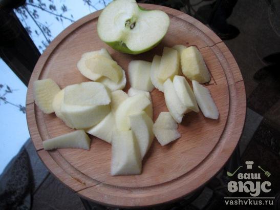 Салат из мандаринов с яблоками