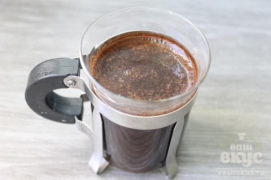 Заварной кофе с пломбиром