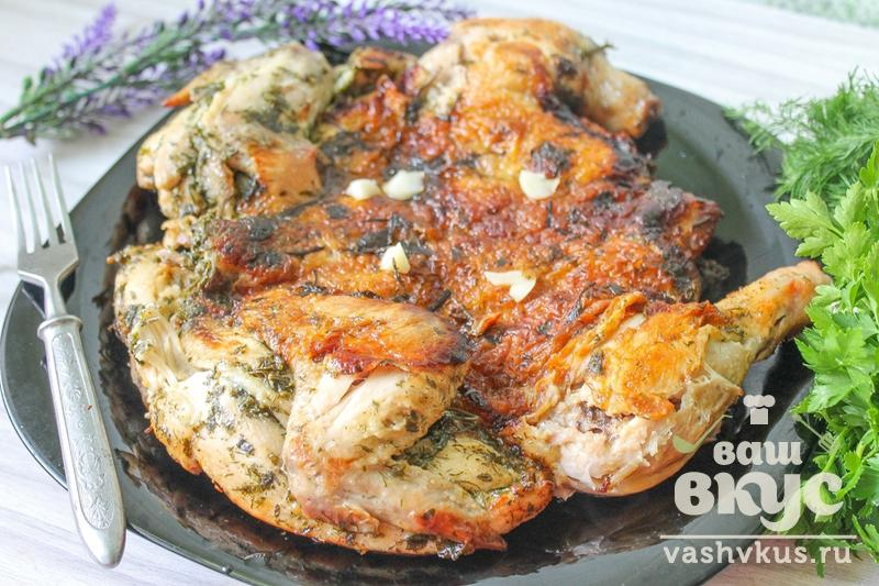 цыпленок табака рецепт с фото в сковороде пошаговый рецепт с фото