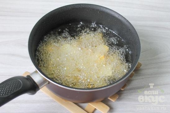 Картофель кусочками во фритюре