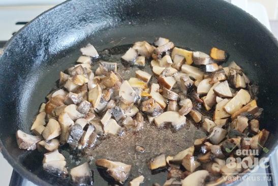 Сливочный суп - пюре с грибами