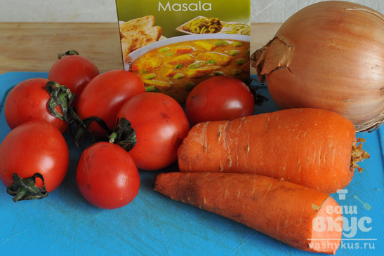 Баранина с овощами по-деревенски