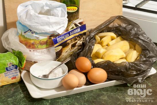 Картофельные вафли